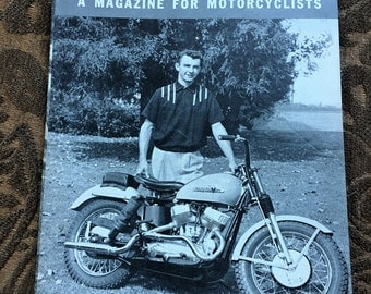 The Enthusiast- A  Magazine for Motorcyclicts