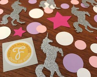 Unicorn TABLE CONFETTI Glitter