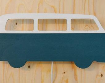 Retro VW classic Volkswagen bus wall lamp