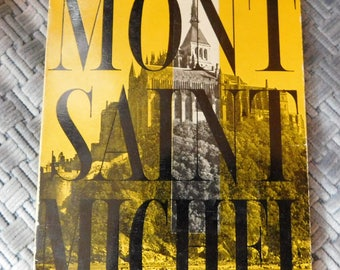The Sights of Mont Saint Michel Printed in France