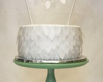 Feather Strips--Edible Wafer Paper