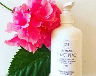 Organic body lotion 200g - non-greasy, light and moisturising