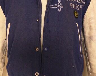 Original 1950s U S Baseball Jacket (distressed)