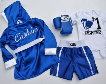 ULTIMATE Fighter Baby/ Boys Custom Boxing complete set
