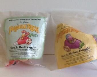 1987 McDonalds FRAGGLE ROCK Muppets Toys