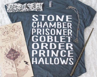 SALE | Harry Potter Shirt | Harry Potter Books Shirt | Fantastic Beasts anr Where to Find Them | Harry Potter | Southern Sweetheart Gifts
