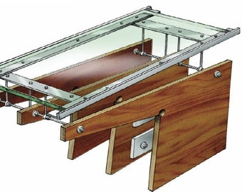 Cantilever Table DIY Woodworking Plans