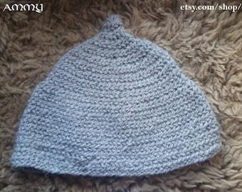 Viking cap for adult, naalbinding