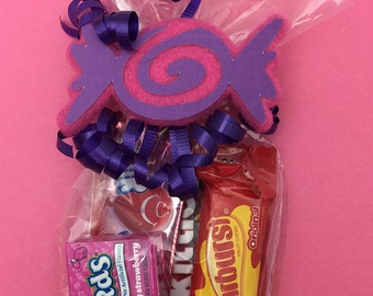 Candyland Party - Candyland Birthday - Candyland Theme - Candyland Party Favor - Candy Land Party - Candy Land Party - Candyland Favor Bag