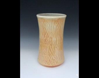 Flower vase wood fired