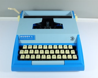 BUDDY L Easy Writer Typewriter 200 / Vintage children typewriter / almost unused Made in Japan - Typewriter from Japan - Working condition