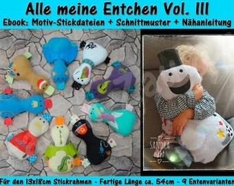 Ebook-Duckling Set vol. III Size XXL for 13x18