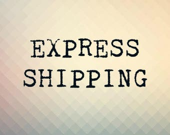 Expedited EXPRESS shipping. 1-4 business days delivery.