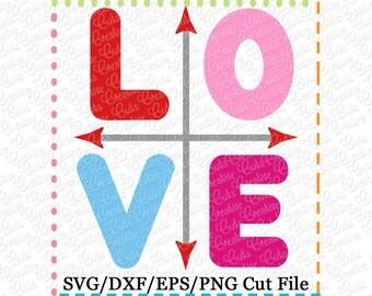 """Shop """"love arrow svg"""" in Patterns & Tutorials"""