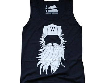 Washington DC Playoff Beard Tank - Medium