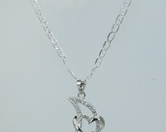 Fine silver necklace 925