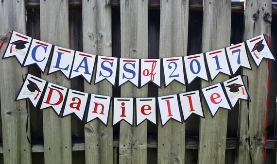 Class of 2017 Graduation Banner