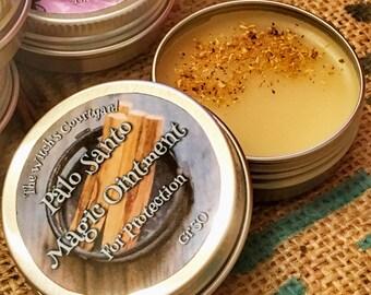 Palo Santo Magic Ointment - Unguento Magico di Palo Santo - PROTEZIONE - allontana il male - contro la negatività