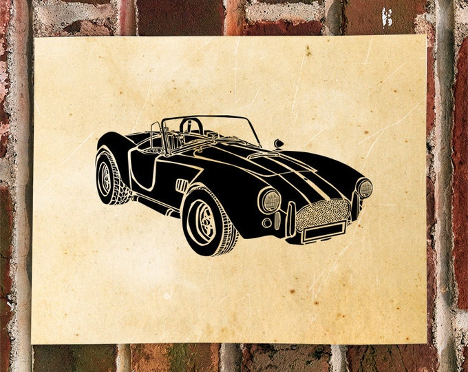 KillerBeeMoto: Shelby Cobra Limited Print 1 of 100