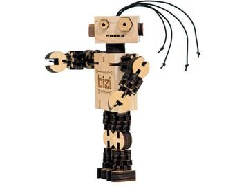 BIZI - Wooden Robot Kit