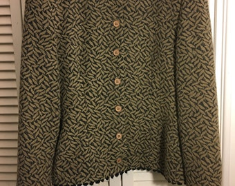 Vintage Giorgio Armani Cashmere and Wool Classic Women's Jacket
