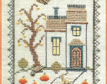 The Haunted House Cross Stitch Kit