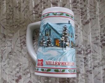 1984 Miller High Life Beer Stein