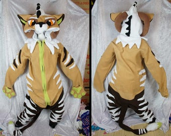 Custom kigurumi commission, Onesie, Halloween Costume, Any Fursona or Animal, Made to order