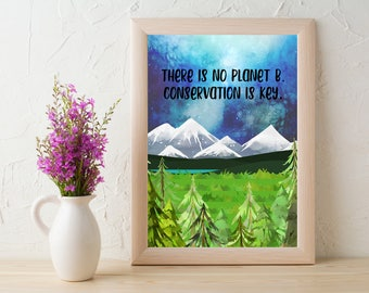 Conservation is Key 8x10 Print