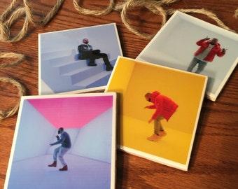 Hotline Bling Drake Tile Coasters
