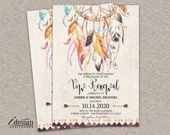 vow renewal invite | etsy, Wedding invitations