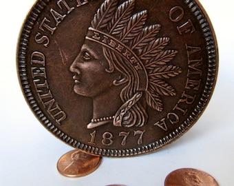 Bank; Coin Bank, Indian Head Penny Bank, Liberty With Head Dress Bank, Piggy Bank, Savings Bank