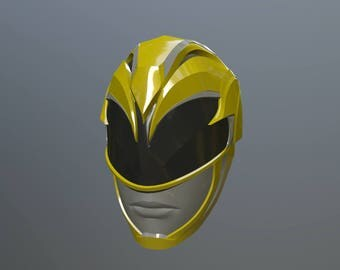 Yellow Power Ranger 3d print