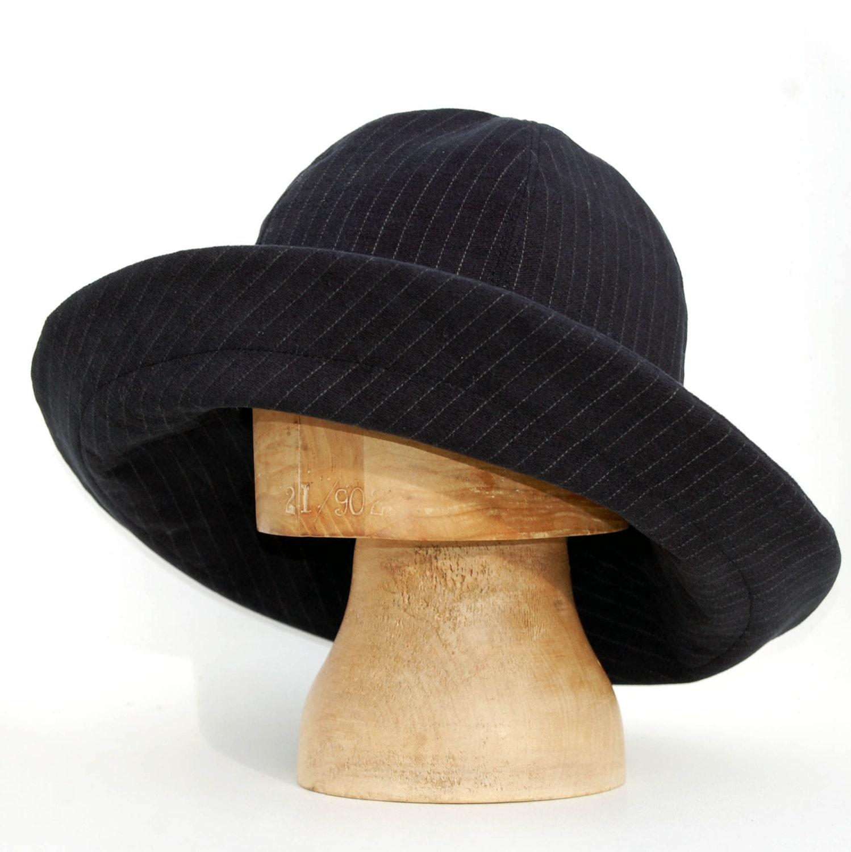 womens fedora hatblack designer hatzutelle wide brim