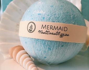 Mermaid bath bomb, surprise bath bomb, mystery bath, sparkle bath bomb, bath bomb, bath bombs, bath bomb surprise, soap