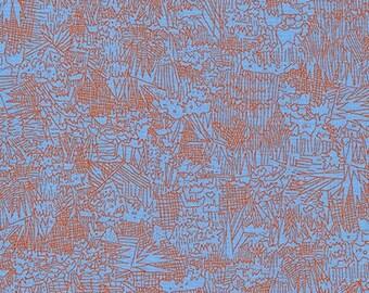 Friedlander - Green Wall Blue Jay - Carolyn Friedlander - Robert Kaufman (AFR-16608-82)