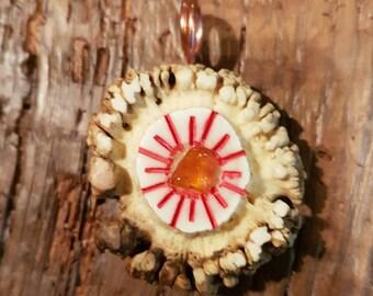 Sowilo rune amulet pendant norse asatru jewelry