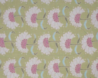Tilda Apple Bloom Rita Olive Fabric - Fat Quarter