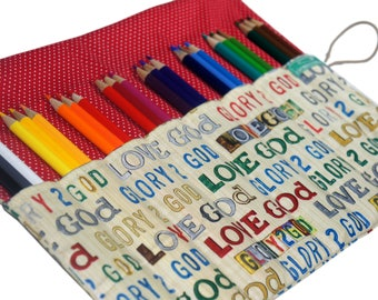 Bible Study Pencil Case, Baptism Gift