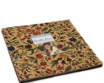 Thistle Farm Layer Cake by Kansas Troubles Quilters for Moda Fabrics. Layer Cake 9530LC