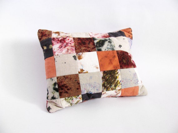 Patchwork Grid Pillow