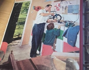 Vintage 60's Better homes and gardens Handyman's Book