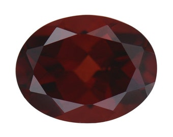 Mozambique Red Garnet Loose Gemstone Oval Cut 1A Quality 9x7mm TGW 2.40 cts.