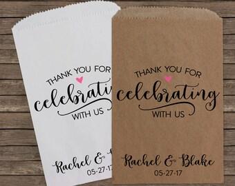 Wedding Candy Bags, Wedding Favors, Candy Bags, Candy Bar Bags, Rustic Wedding, Popcorn Bags, Custom Wedding Favors, Candy Bags, Kraft 185