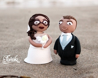 Weeding cake toppers customizable