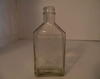 Vintage Hinds Cream Bottle- Honey and Almond