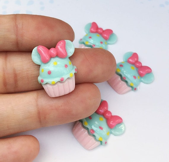 3 pcs.17x19mm.Miniature Cabochon Cupcakes,Miniature Cupcakes,Cabochon,Resin,Miniature Sweet,Mobile Accessories,Miniature cake,DIY