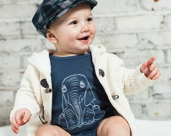 Elephant Organic Made in the U.S. Onesie