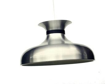 Vintage pendant light lamp in aluminum