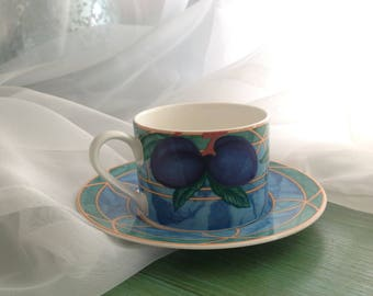Victoria & Beale Forbidden Fruit - mugs and saucers